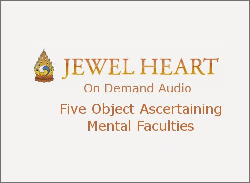 Five Object Ascertaining Mental Faculties