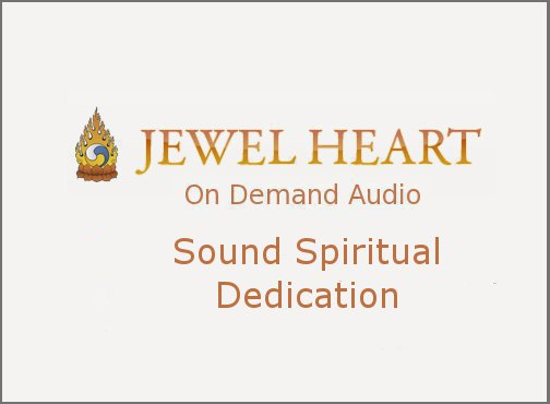 Sound Spiritual Dedication