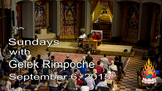 Sundays with Gelek Rimpoche 30