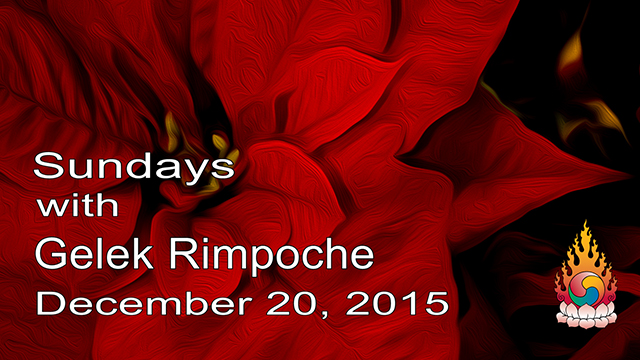 Sundays with Gelek Rimpoche 45