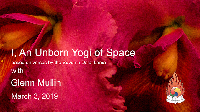 Glenn Mullin – I, An Unborn Yogi of Space