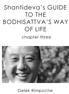 Bodhisattva's Way of Life Chapter 3