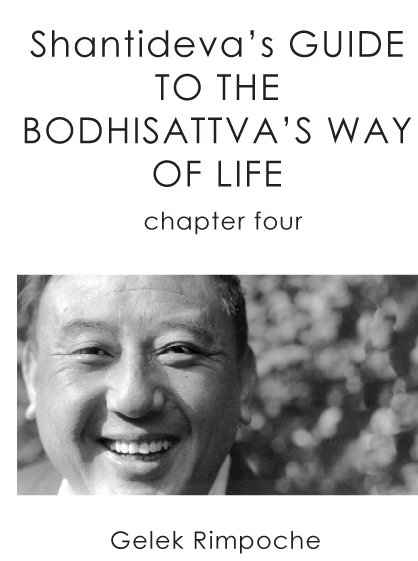 Bodhisattva's Way of Life Chapter 4