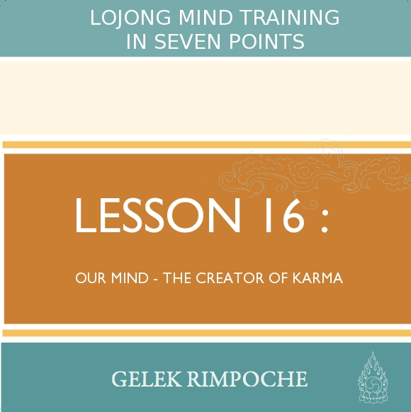 Our Mind – the Creator of Karma