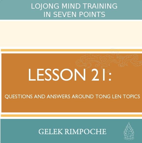 Questions and Answers Around Tong Len Topics
