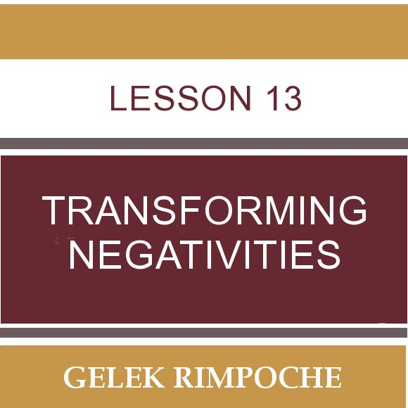 Lesson 13: Transforming Negativities