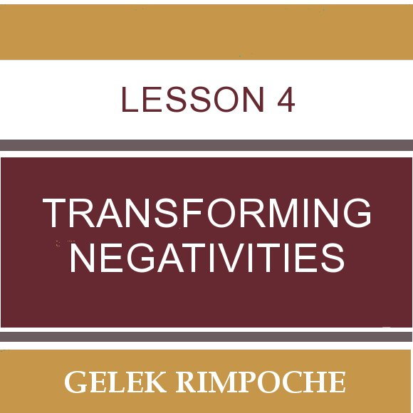 Lesson 4: Transforming Negativities