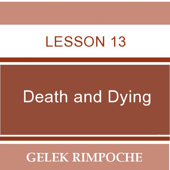 Lesson 13: Death and Dying