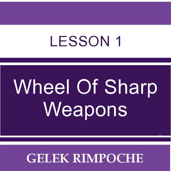 Wheel of Sharp Weapons: Lesson 1