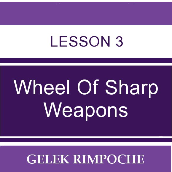 Wheel of Sharp Weapons: Lesson 3