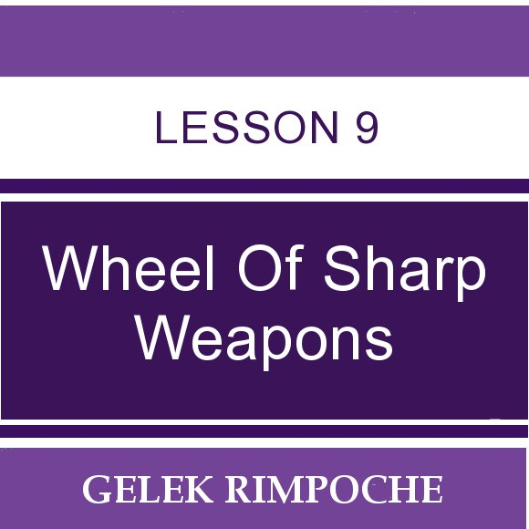 Wheel of Sharp Weapons: Lesson 9