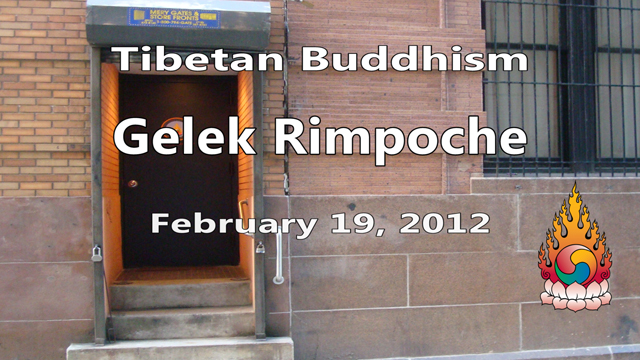 Tibetan Buddhism with Gelek Rimpoche 8