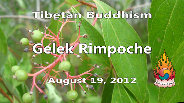 Tibetan Buddhism with Gelek Rimpoche 33