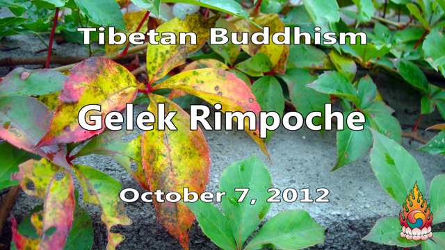 Tibetan Buddhism with Gelek Rimpoche 40