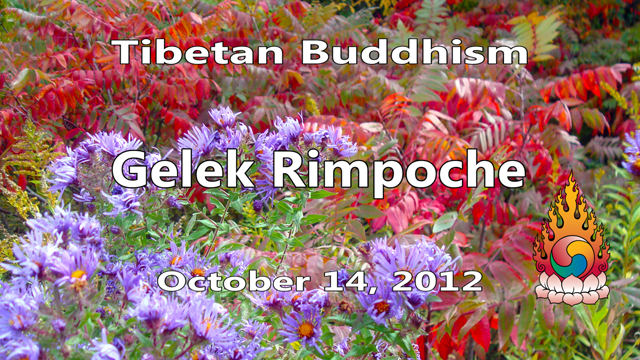 Tibetan Buddhism with Gelek Rimpoche 41