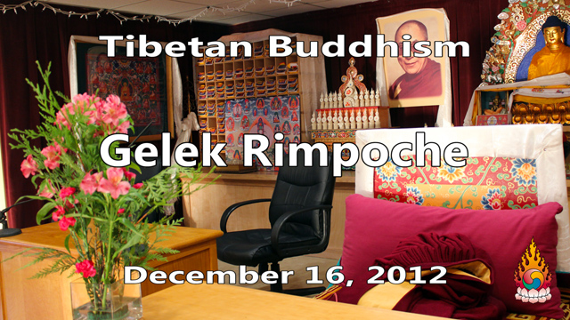 Tibetan Buddhism with Gelek Rimpoche 50