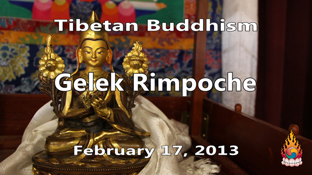 Tibetan Buddhism with Gelek Rimpoche 57