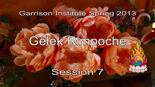 2013 Memorial Day Weekend Retreat with Gelek Rimpoche 7