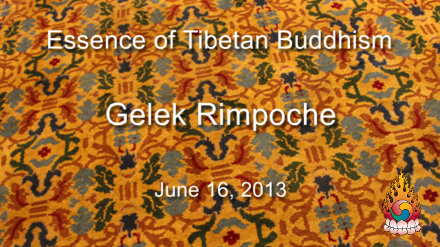 Essence of Tibetan Buddhism 15