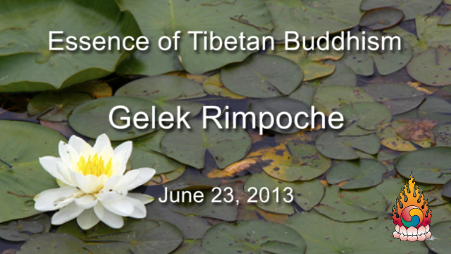 Essence of Tibetan Buddhism 16