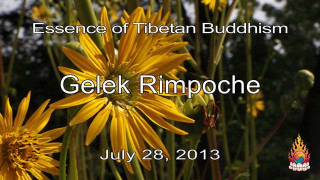 Essence of Tibetan Buddhism 21