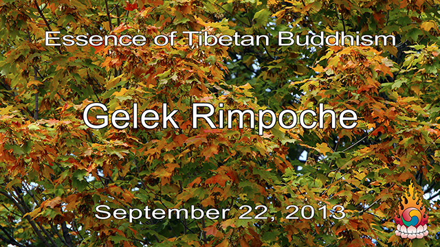 Essence of Tibetan Buddhism 29