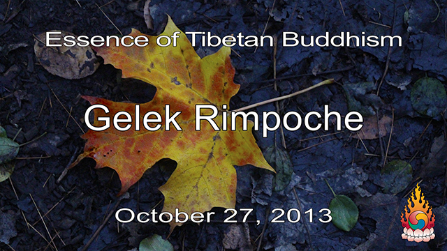 Essence of Tibetan Buddhism 33