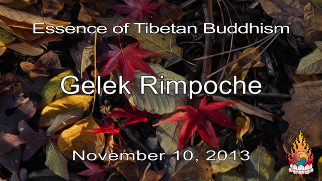 Essence of Tibetan Buddhism 35