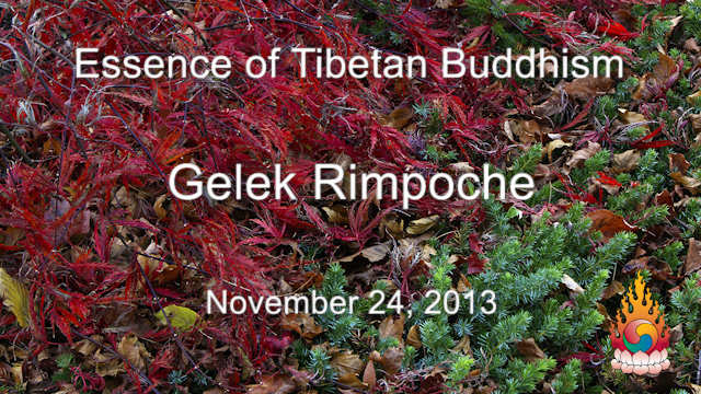 Essence of Tibetan Buddhism 37