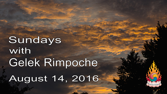 Sundays with Gelek Rimpoche 57