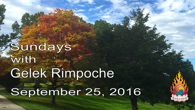 Sundays with Gelek Rimpoche 63