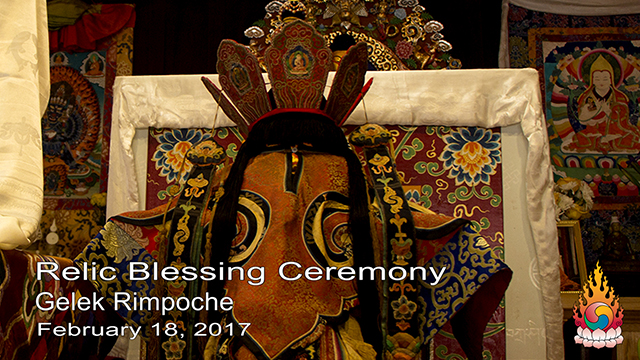 Relic Blessing Ceremony