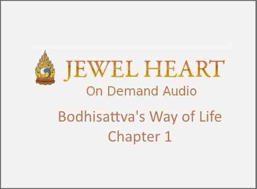 Bodhisattva's Way of Life – Chapter 1