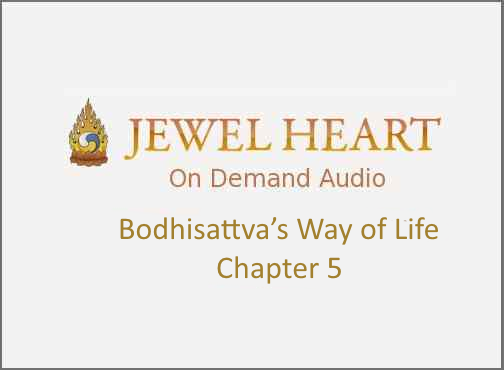 Bodhisattva's Way of Life – Chapter 5