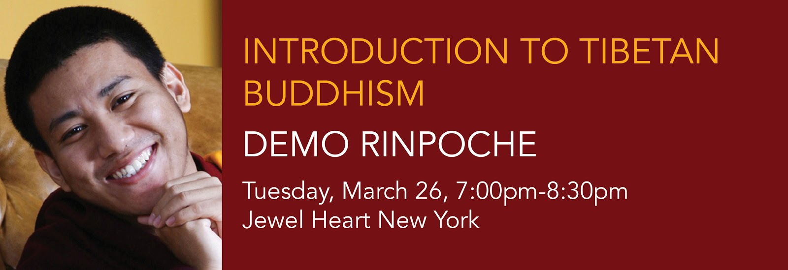 Introduction To Tibetan Buddhism - Demo Rinpoche