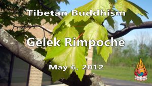 Tibetan Buddhism with Gelek Rimpoche 19