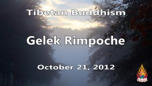 Tibetan Buddhism with Gelek Rimpoche 42