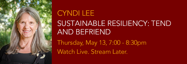 Cyndi Lee Sustainable Resiliency May 13 bnr