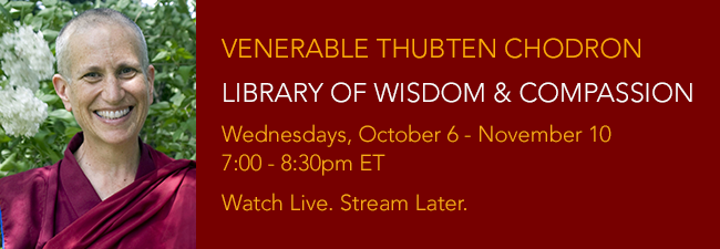 Library of Wisdom and Compassion Ven Chodron